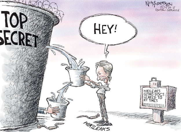 Cartoonist Nick Anderson  Nick Anderson's Editorial Cartoons 2011-04-26 human rights