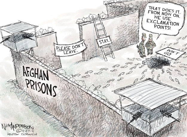 Cartoonist Nick Anderson  Nick Anderson's Editorial Cartoons 2011-04-27 point