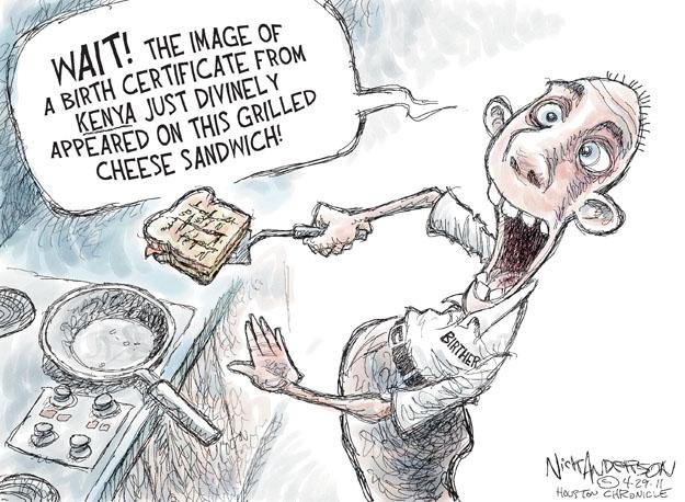 Nick Anderson  Nick Anderson's Editorial Cartoons 2011-04-29 birth