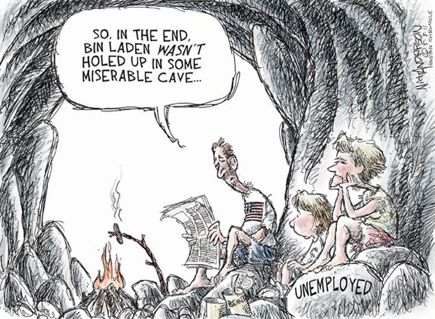 Cartoonist Nick Anderson  Nick Anderson's Editorial Cartoons 2011-05-08 Al Qaeda