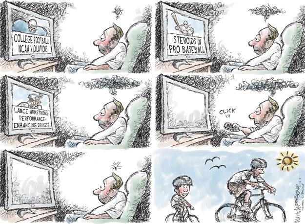Cartoonist Nick Anderson  Nick Anderson's Editorial Cartoons 2011-05-25 son