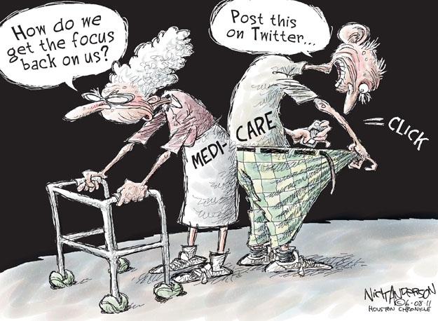 Nick Anderson  Nick Anderson's Editorial Cartoons 2011-06-08 distraction