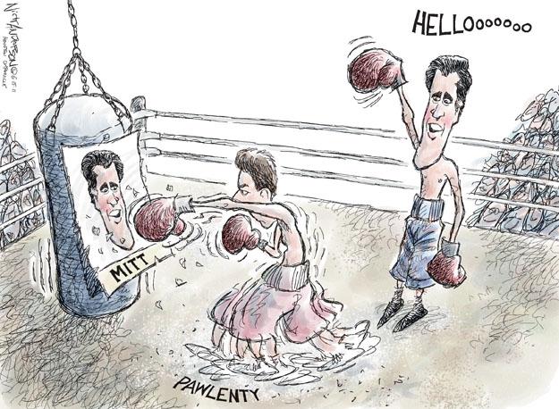 Cartoonist Nick Anderson  Nick Anderson's Editorial Cartoons 2011-06-15 health care