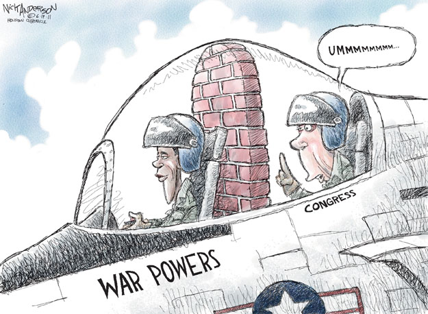 Cartoonist Nick Anderson  Nick Anderson's Editorial Cartoons 2011-06-19 armed