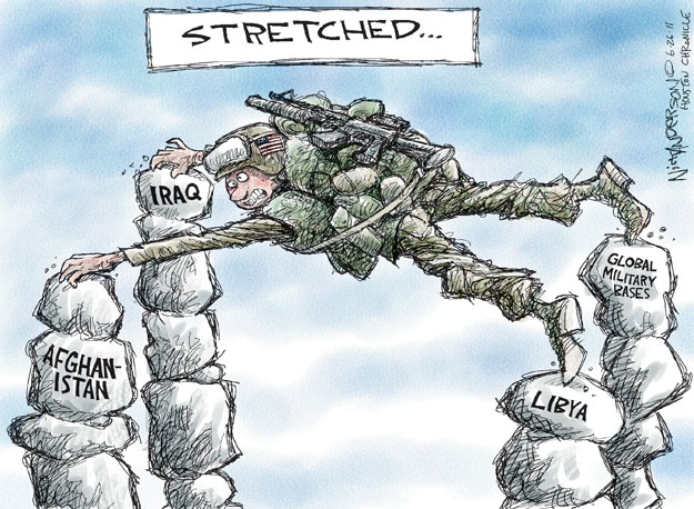 Nick Anderson  Nick Anderson's Editorial Cartoons 2011-06-26 military strategy