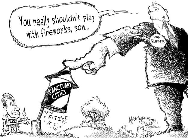Cartoonist Nick Anderson  Nick Anderson's Editorial Cartoons 2011-06-30 city