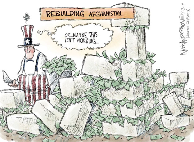 Cartoonist Nick Anderson  Nick Anderson's Editorial Cartoons 2011-07-03 armed