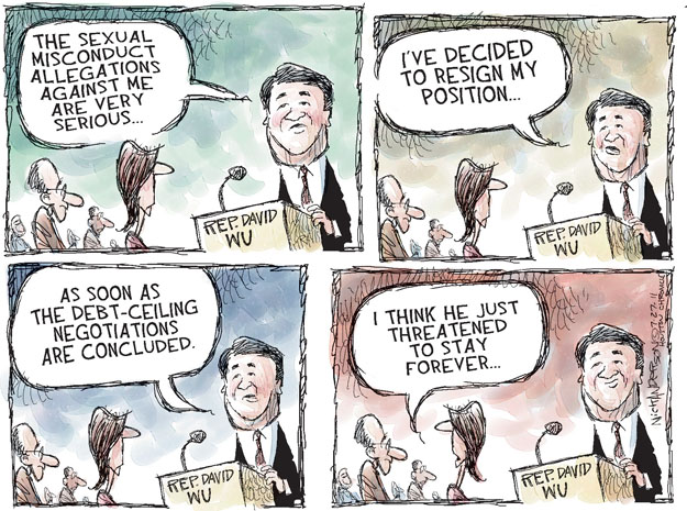 Nick Anderson  Nick Anderson's Editorial Cartoons 2011-07-27 complaint