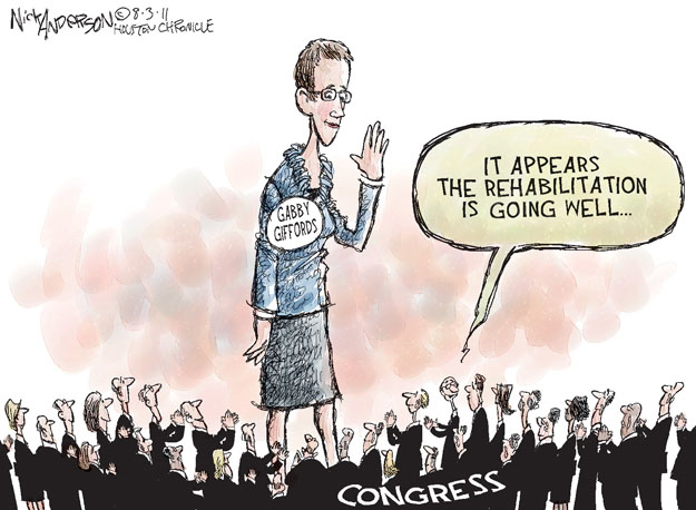 Nick Anderson  Nick Anderson's Editorial Cartoons 2011-08-03 well