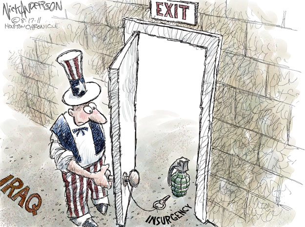 Cartoonist Nick Anderson  Nick Anderson's Editorial Cartoons 2011-08-17 armed
