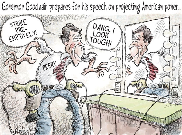 Cartoonist Nick Anderson  Nick Anderson's Editorial Cartoons 2011-08-30 style