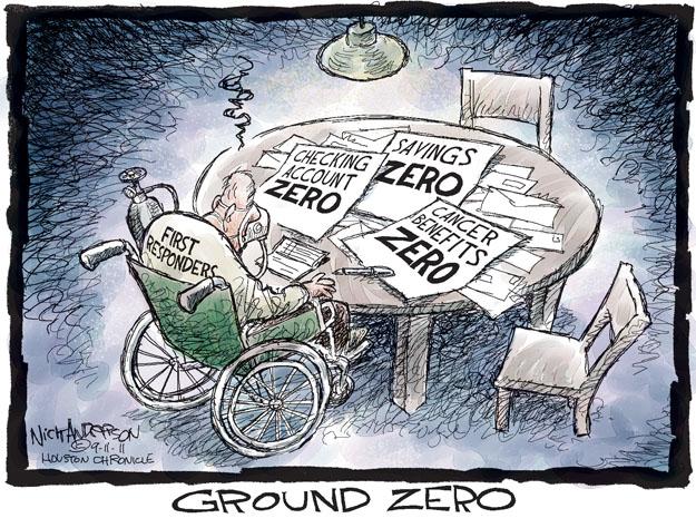 Cartoonist Nick Anderson  Nick Anderson's Editorial Cartoons 2011-09-11 account