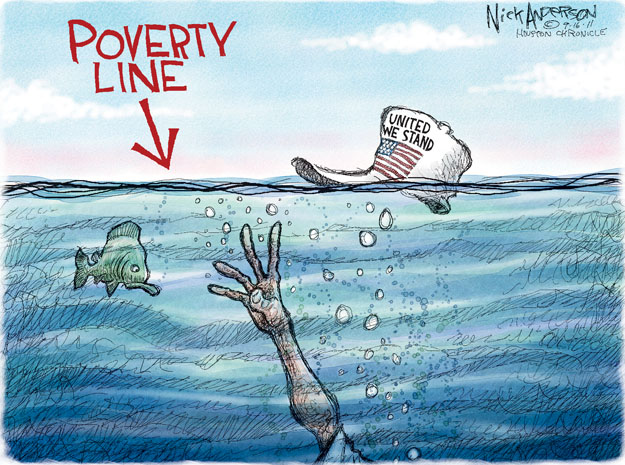 Poverty Line. United We Stand.