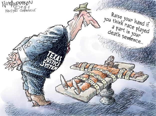 Nick Anderson  Nick Anderson's Editorial Cartoons 2011-09-18 justice