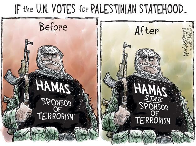 Cartoonist Nick Anderson  Nick Anderson's Editorial Cartoons 2011-09-22 Palestinian