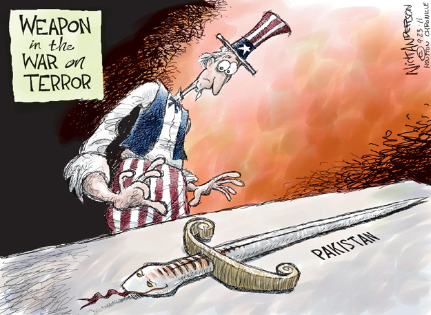 Cartoonist Nick Anderson  Nick Anderson's Editorial Cartoons 2011-09-23 middle