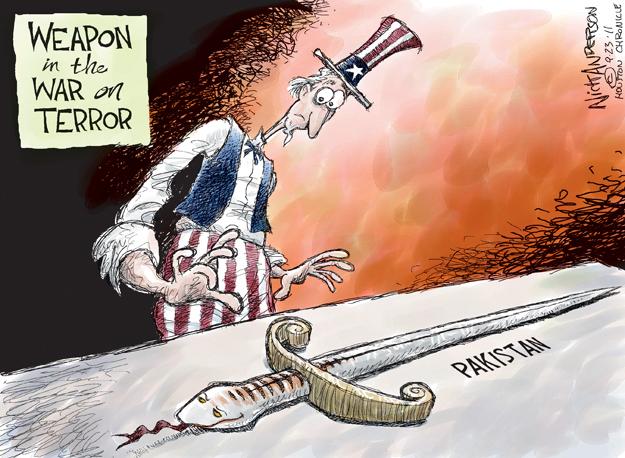 Nick Anderson  Nick Anderson's Editorial Cartoons 2011-09-23 danger
