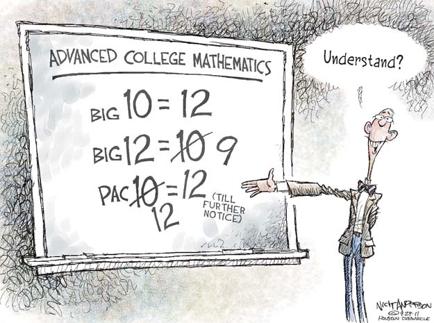 Cartoonist Nick Anderson  Nick Anderson's Editorial Cartoons 2011-09-29 university