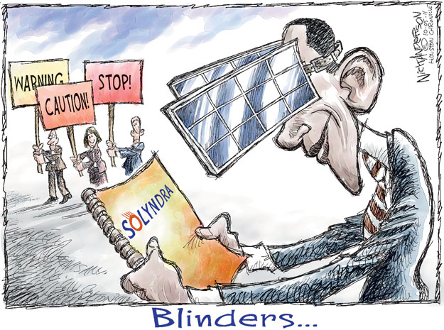 Cartoonist Nick Anderson  Nick Anderson's Editorial Cartoons 2011-10-05 vision