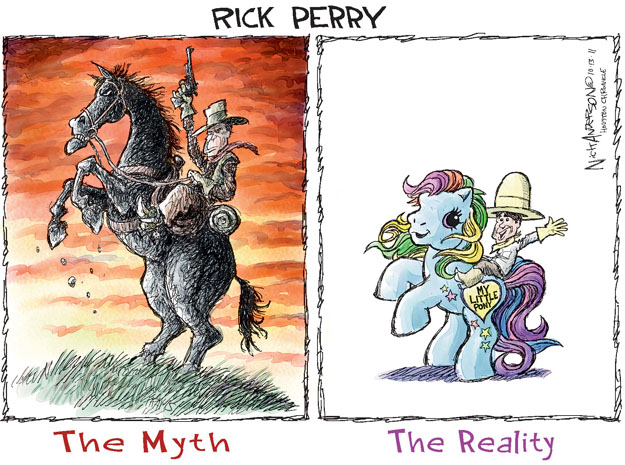 Cartoonist Nick Anderson  Nick Anderson's Editorial Cartoons 2011-10-13 presidential candidate