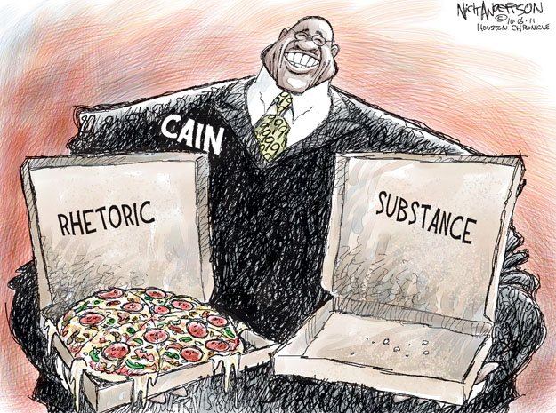 Cartoonist Nick Anderson  Nick Anderson's Editorial Cartoons 2011-10-16 presidential candidate