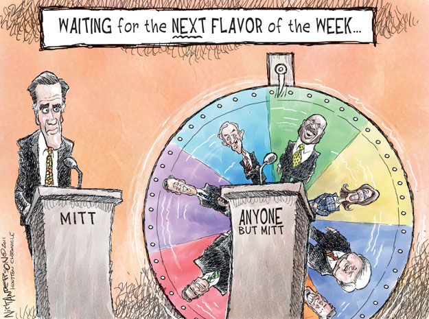 Cartoonist Nick Anderson  Nick Anderson's Editorial Cartoons 2011-10-23 presidential candidate