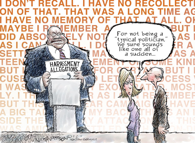 Cartoonist Nick Anderson  Nick Anderson's Editorial Cartoons 2011-11-02 presidential candidate