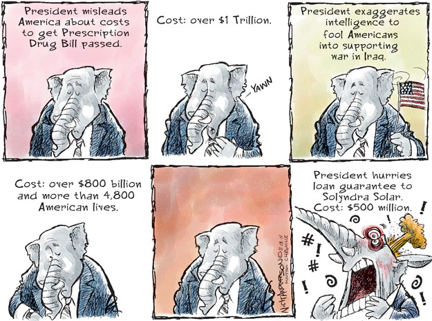 Cartoonist Nick Anderson  Nick Anderson's Editorial Cartoons 2011-11-18 million