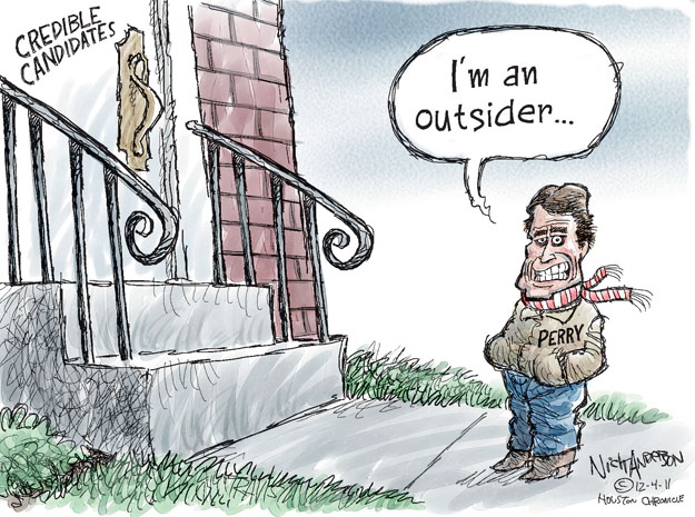 Cartoonist Nick Anderson  Nick Anderson's Editorial Cartoons 2011-12-04 presidential candidate
