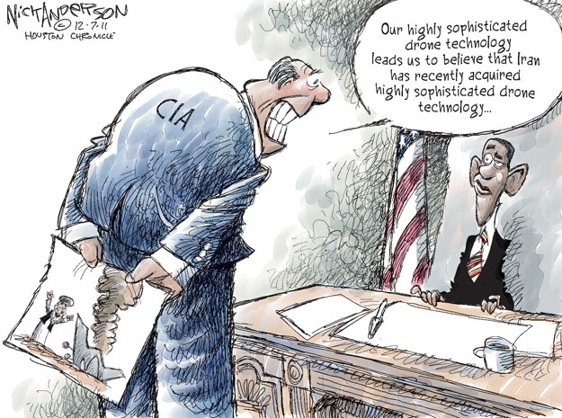 Cartoonist Nick Anderson  Nick Anderson's Editorial Cartoons 2011-12-07 armed