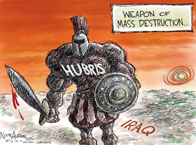 Cartoonist Nick Anderson  Nick Anderson's Editorial Cartoons 2011-12-16 armed