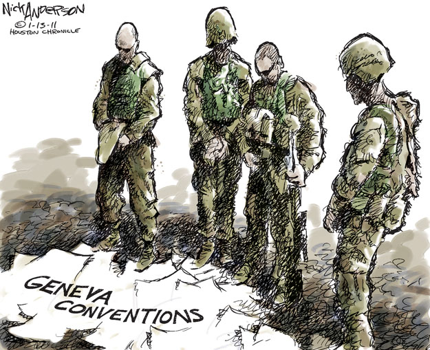 Cartoonist Nick Anderson  Nick Anderson's Editorial Cartoons 2012-01-13 armed