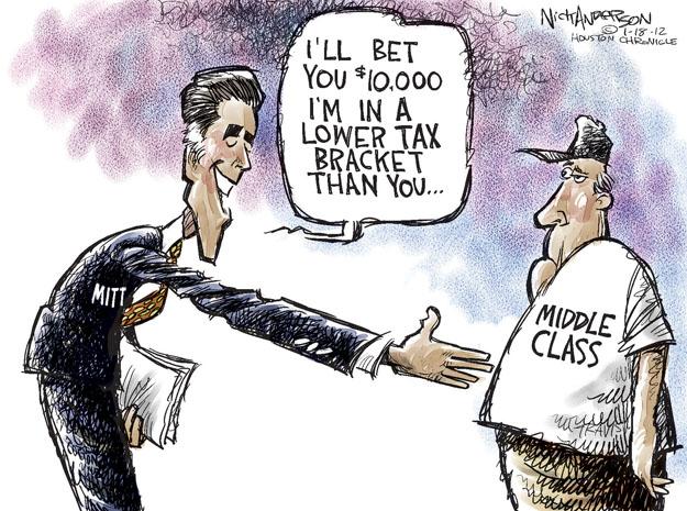 Cartoonist Nick Anderson  Nick Anderson's Editorial Cartoons 2012-01-18 rich