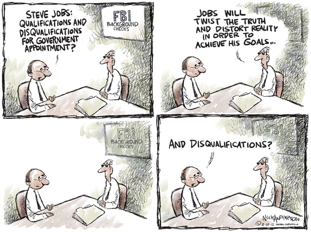 Cartoonist Nick Anderson  Nick Anderson's Editorial Cartoons 2012-02-10 background check