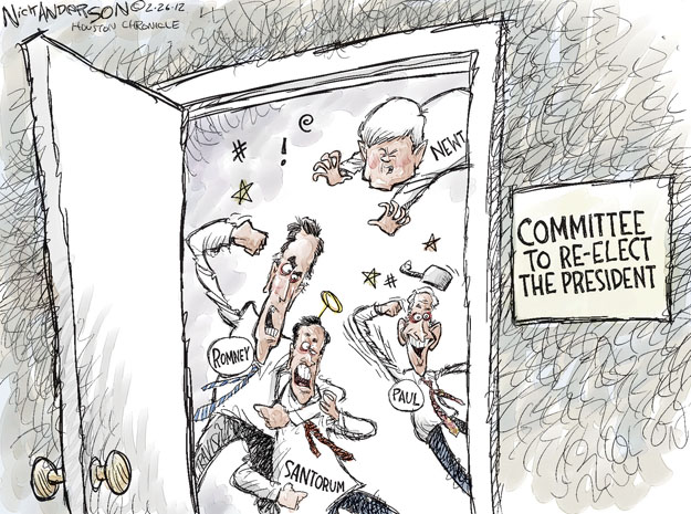 Cartoonist Nick Anderson  Nick Anderson's Editorial Cartoons 2012-02-26 speaker