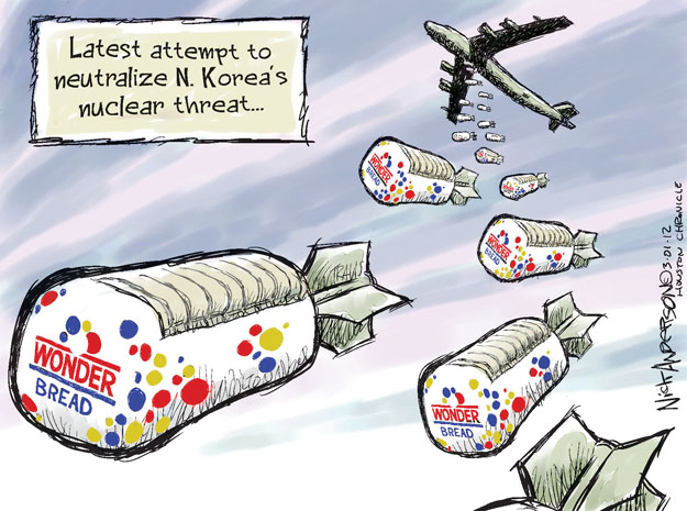Cartoonist Nick Anderson  Nick Anderson's Editorial Cartoons 2012-03-01 nuclear weapon