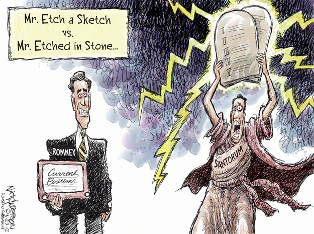 Cartoonist Nick Anderson  Nick Anderson's Editorial Cartoons 2012-03-23 2012 primary