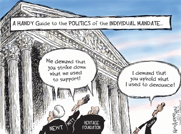 Cartoonist Nick Anderson  Nick Anderson's Editorial Cartoons 2012-03-28 speaker