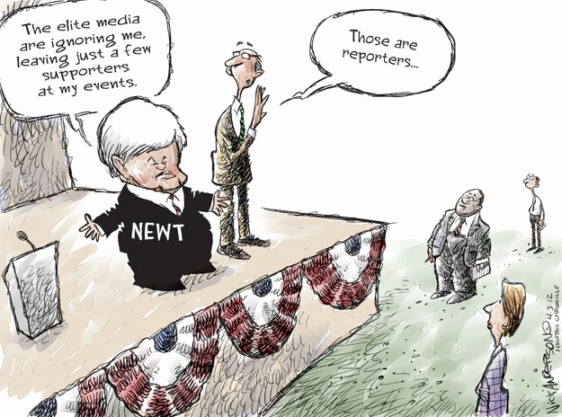 Cartoonist Nick Anderson  Nick Anderson's Editorial Cartoons 2012-04-03 speaker