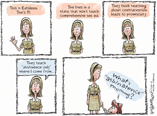 Cartoonist Nick Anderson  Nick Anderson's Editorial Cartoons 2012-04-20 education