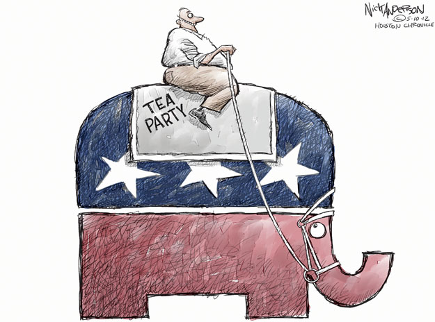 Cartoonist Nick Anderson  Nick Anderson's Editorial Cartoons 2012-05-10 tea party