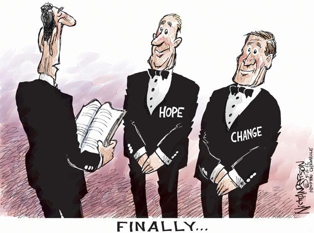 Nick Anderson  Nick Anderson's Editorial Cartoons 2012-05-11 gay marriage
