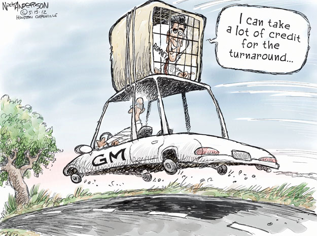 Cartoonist Nick Anderson  Nick Anderson's Editorial Cartoons 2012-05-14 automotive