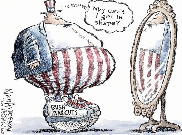 Nick Anderson  Nick Anderson's Editorial Cartoons 2012-05-17 George Bush