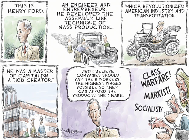 Cartoonist Nick Anderson  Nick Anderson's Editorial Cartoons 2012-05-27 automobile