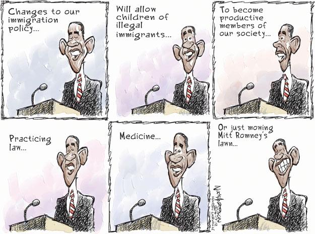 Cartoonist Nick Anderson  Nick Anderson's Editorial Cartoons 2012-06-17 rich
