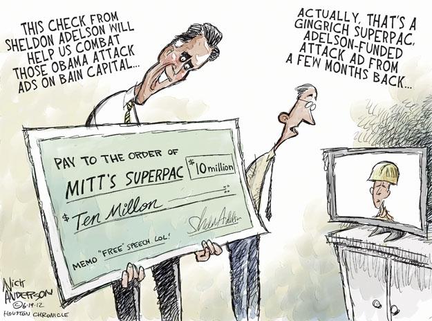 Nick Anderson  Nick Anderson's Editorial Cartoons 2012-06-19 republican president