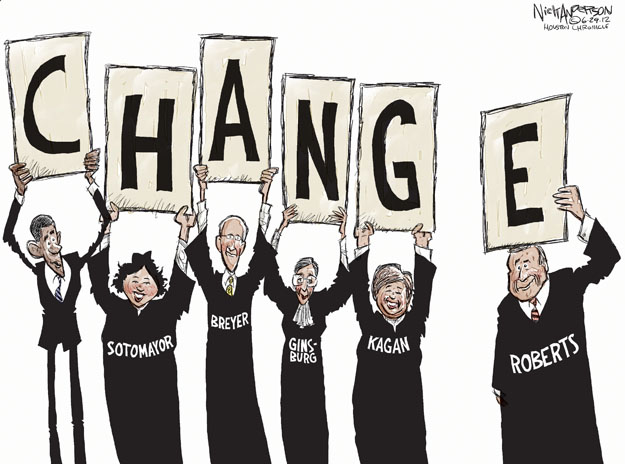 Nick Anderson  Nick Anderson's Editorial Cartoons 2012-06-29 Elena Kagan
