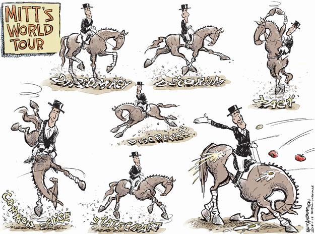 Cartoonist Nick Anderson  Nick Anderson's Editorial Cartoons 2012-08-01 Mitt