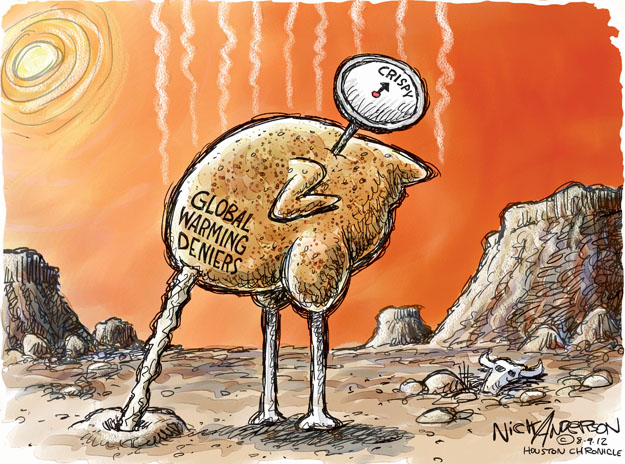 Nick Anderson  Nick Anderson's Editorial Cartoons 2012-08-09 climate
